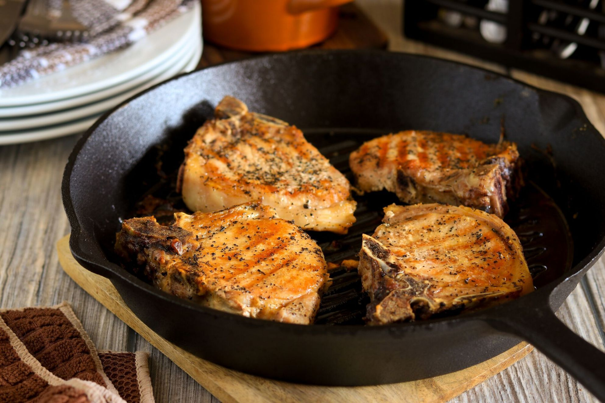 Oven-Roasted Pork Chops - Recipes Pork Chops Oven