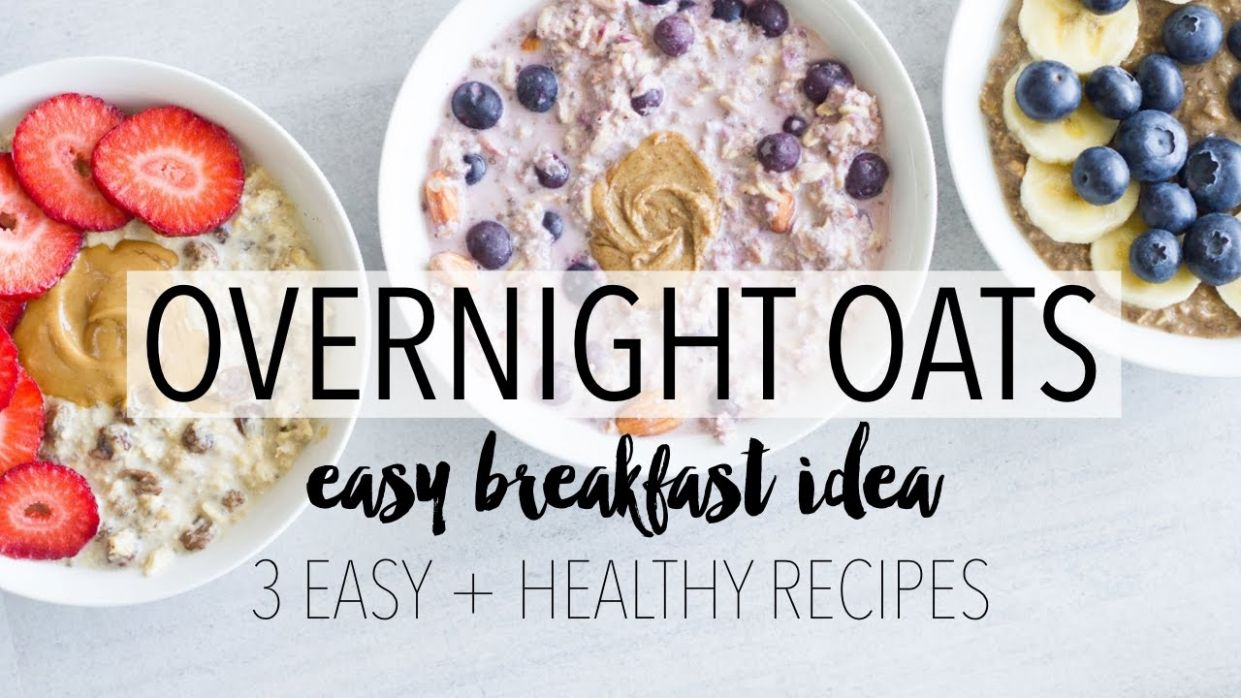 Overnight Oats 11 Ways | Easy + Healthy Breakfast Ideas