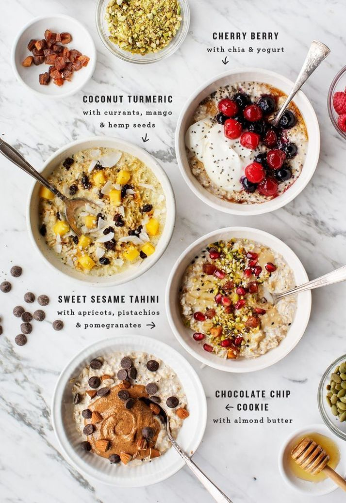 Overnight Oats - Breakfast Recipes Using Oats