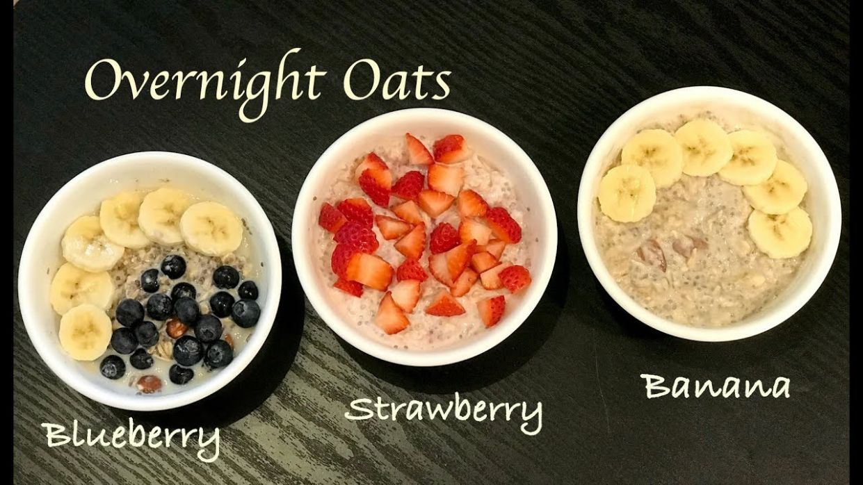 Overnight Oats | Healthy Breakfast Recipe | Overnight oats for weightloss |  Oatmeal with yoghurt - Oatmeal Recipes For Weight Loss Breakfast
