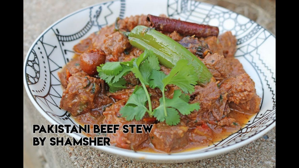 Pakistani Beef Stew Recipe | How To Make Pakistani Beef Stew | Easy Beef  Stew