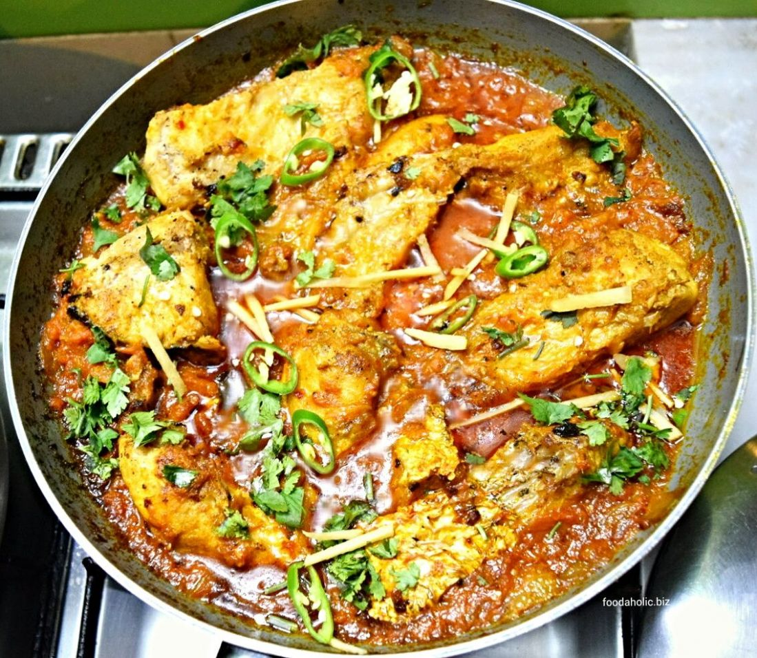 Pakistani Fish Karahi | Karahi recipe, Indian food recipes ...