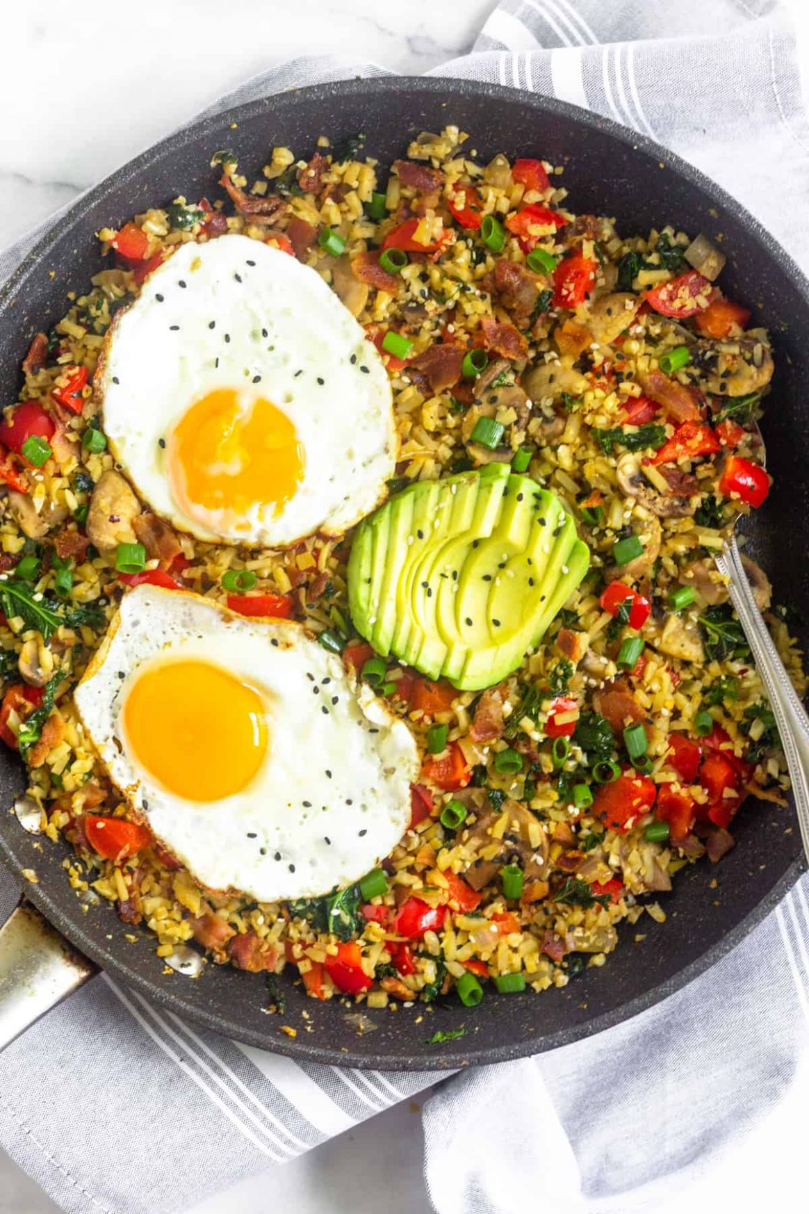 Paleo Breakfast Fried Rice (Whole10) - Breakfast Recipes Paleo