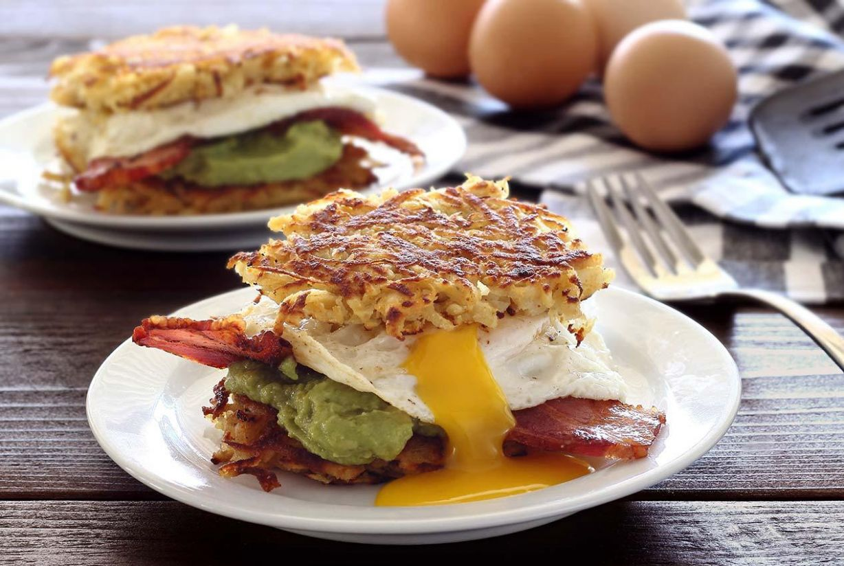 Paleo Hash Brown Slider Recipe
