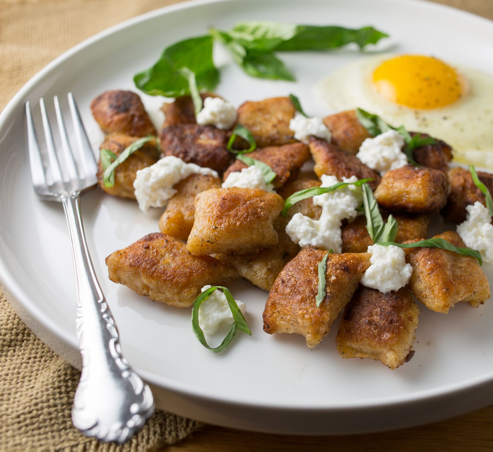 pan-fried rutabaga gnocchi - punctuated with food - Recipe Egg Gnocchi