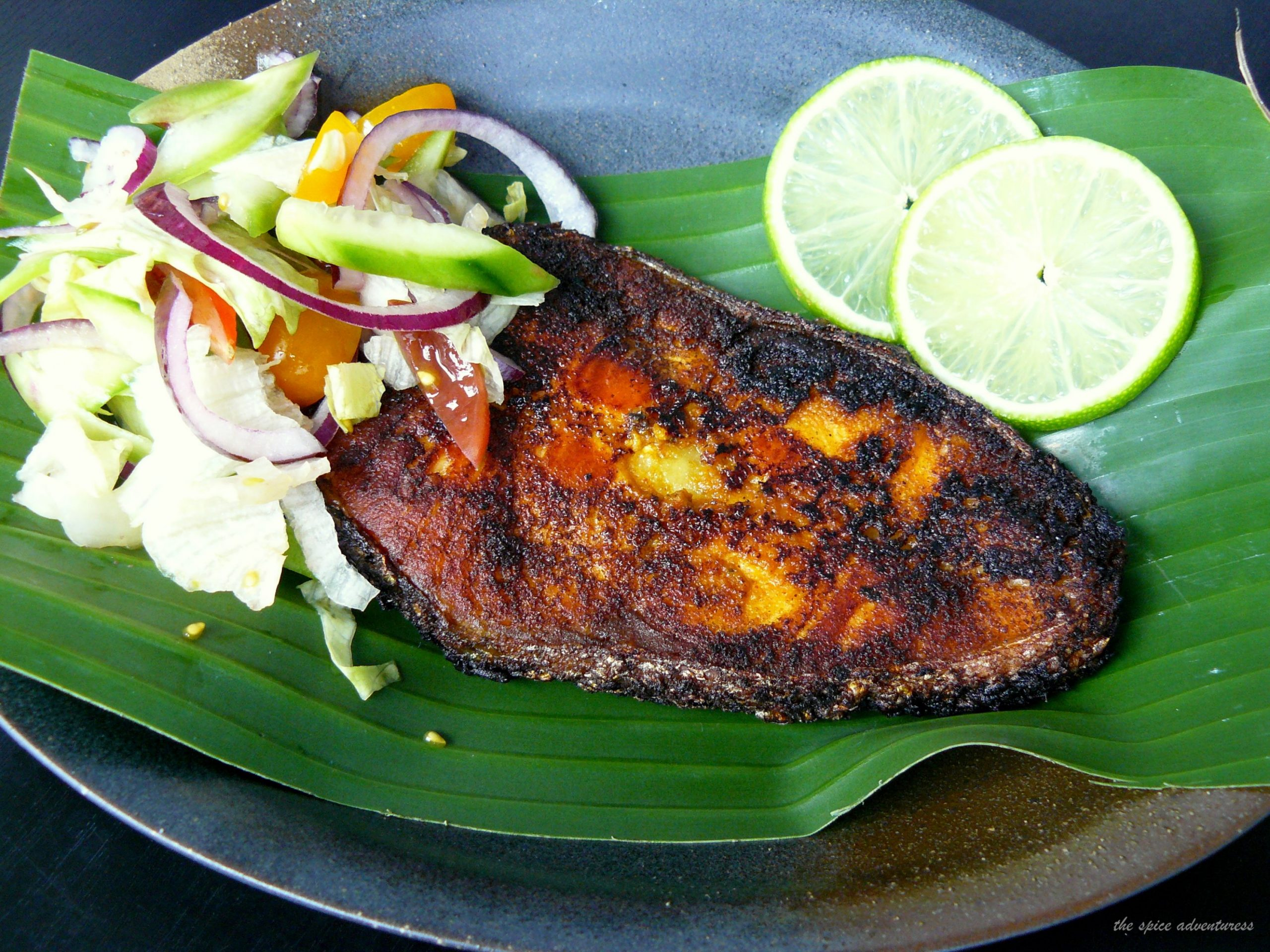Pan Fried Salmon (with a Kerala style spice marinade) – The Spice ...