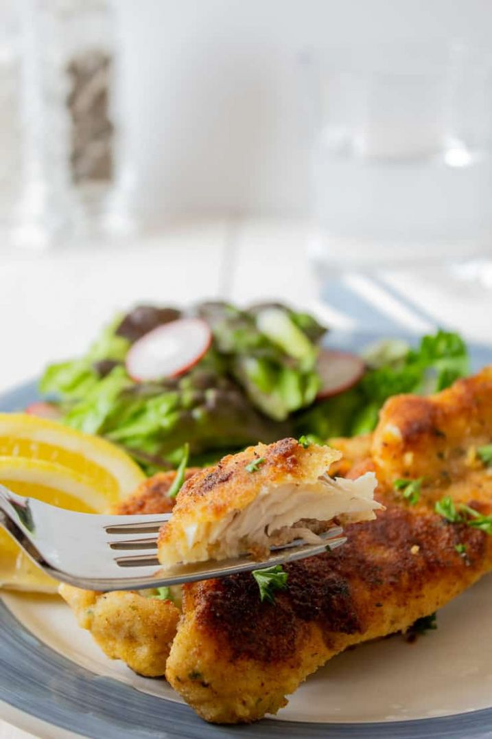 Pan Fried Walleye - Beyond The Chicken Coop