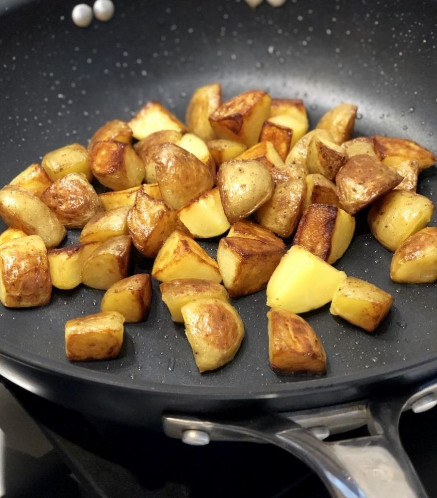 Pan Roasted Potatoes - Potato Recipes On Stove