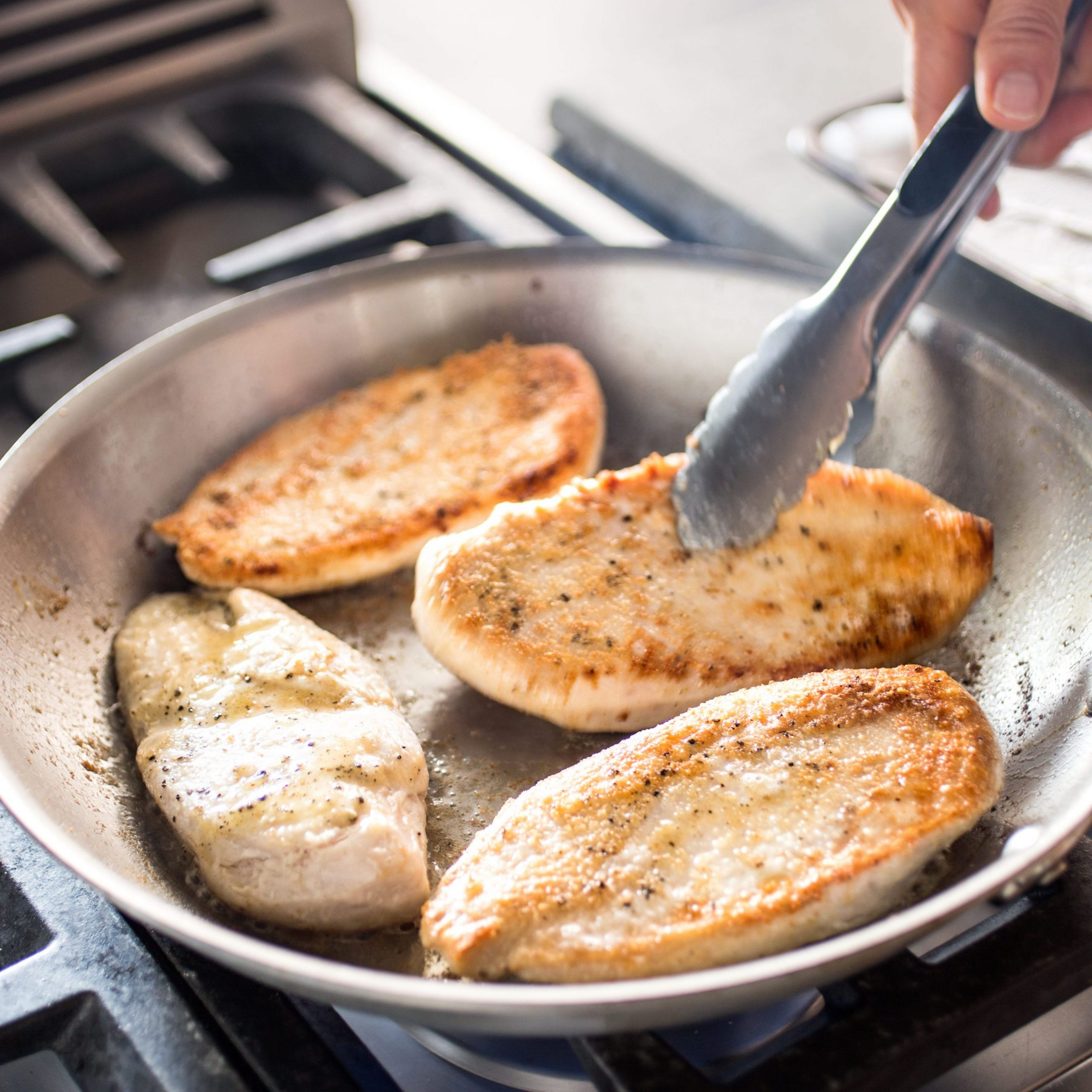Pan-Seared Chicken Breasts - Recipes Chicken Breast Pan Fried