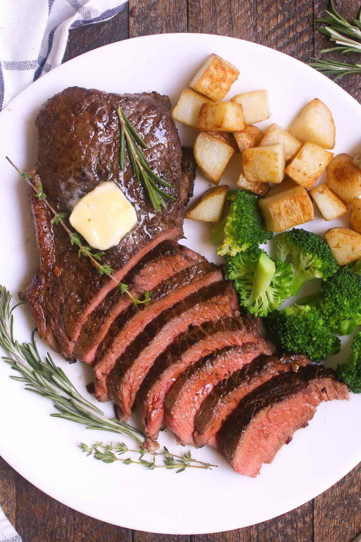 Pan Seared Sirloin Steak - TipBuzz