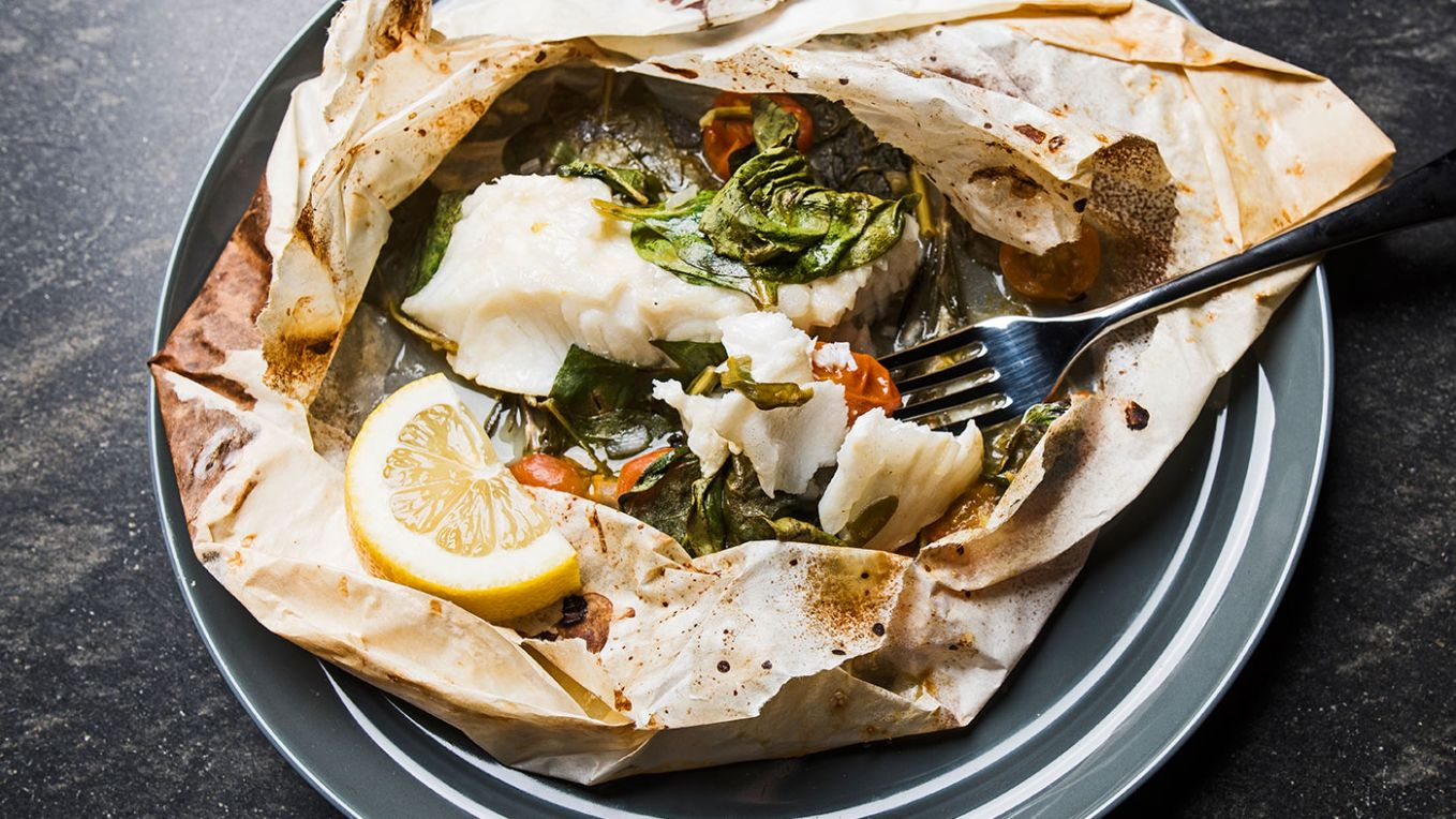 Parchment Paper Fish - Recipes Fish In Parchment Paper