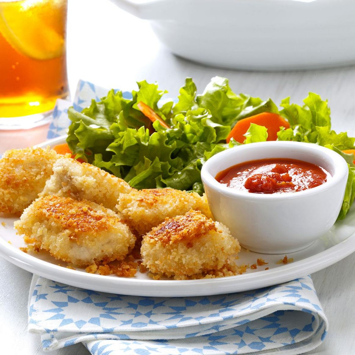Parmesan Chicken Nuggets
