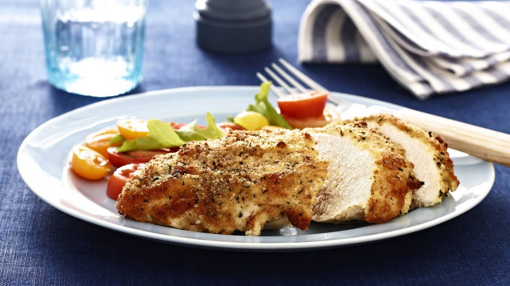 Parmesan Crusted Chicken - Chicken Breast Recipes Yummly