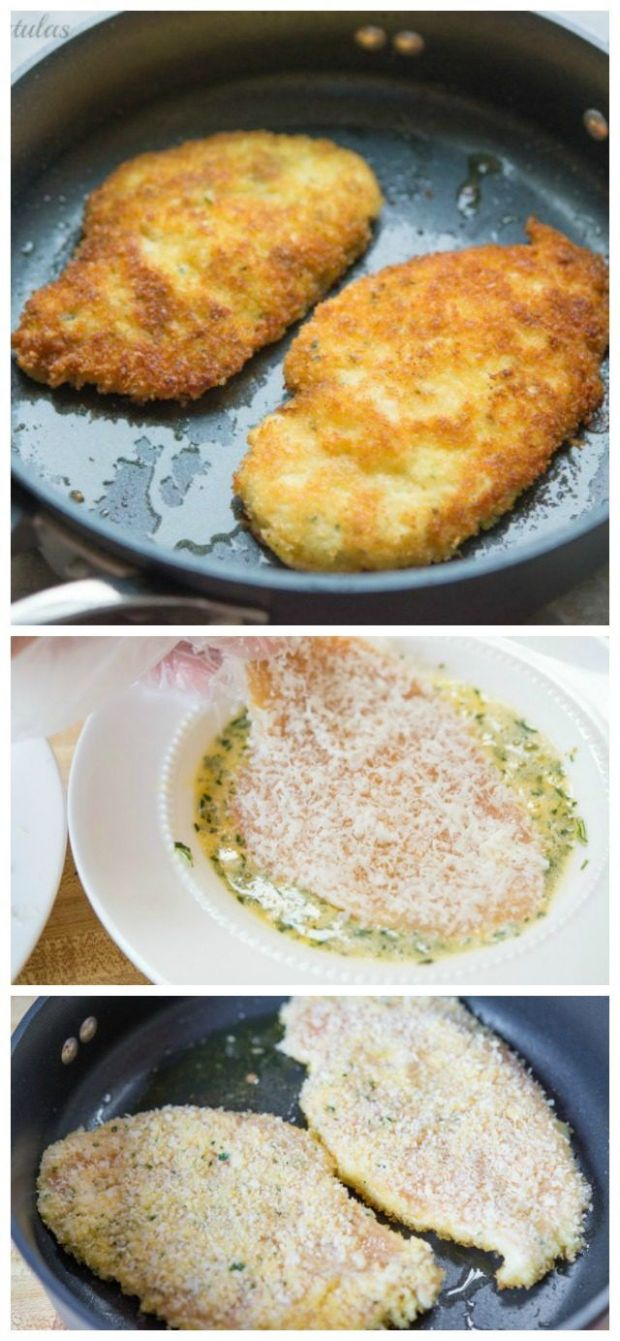 Parmesan Crusted Chicken is a quick, easy, and delicious recipe to ..