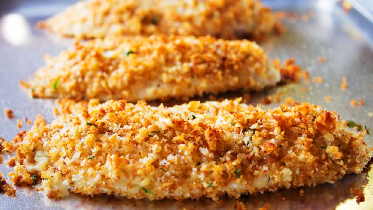 Parmesan Crusted Walleye Recipe