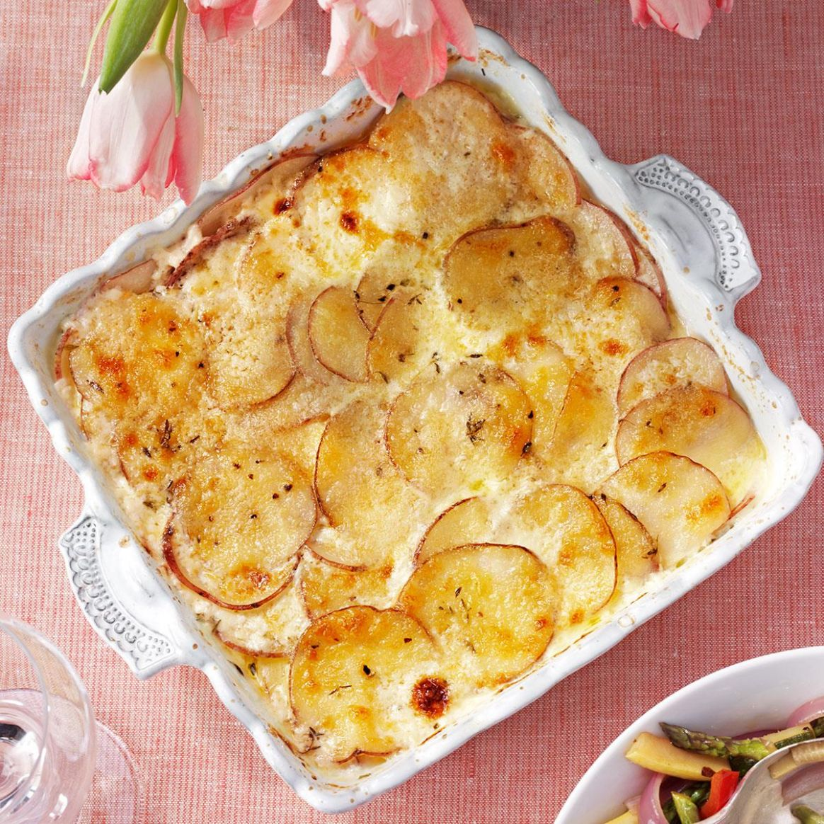 Parmesan Potatoes Au Gratin - Recipes Potato Gratin