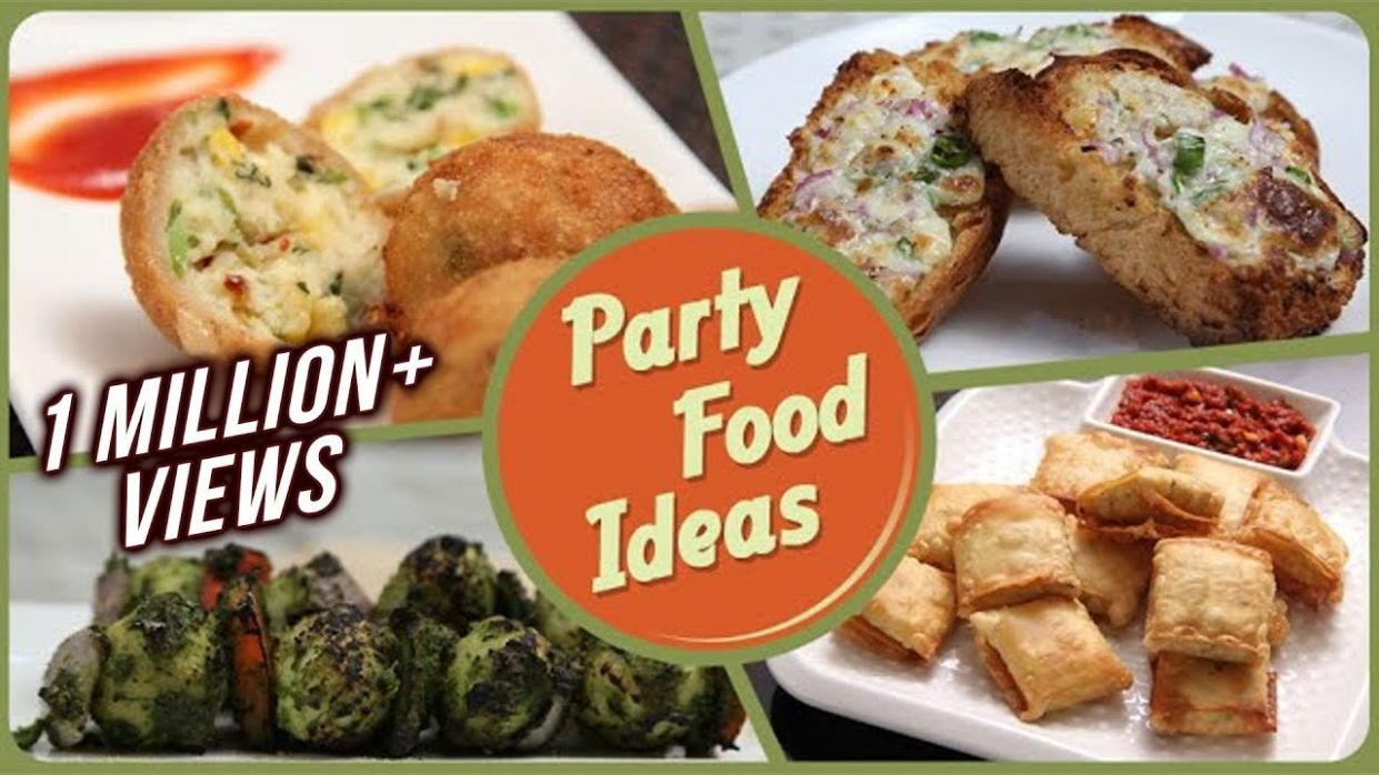 Party Food Ideas - Quick And Easy To Make Party Starters / Snack / Dips  Recipe - Recipes Dinner Party Starters
