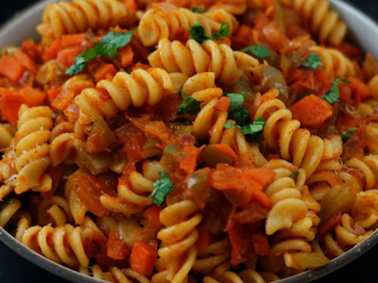 Pasta / Pasta Recipe Indian Style