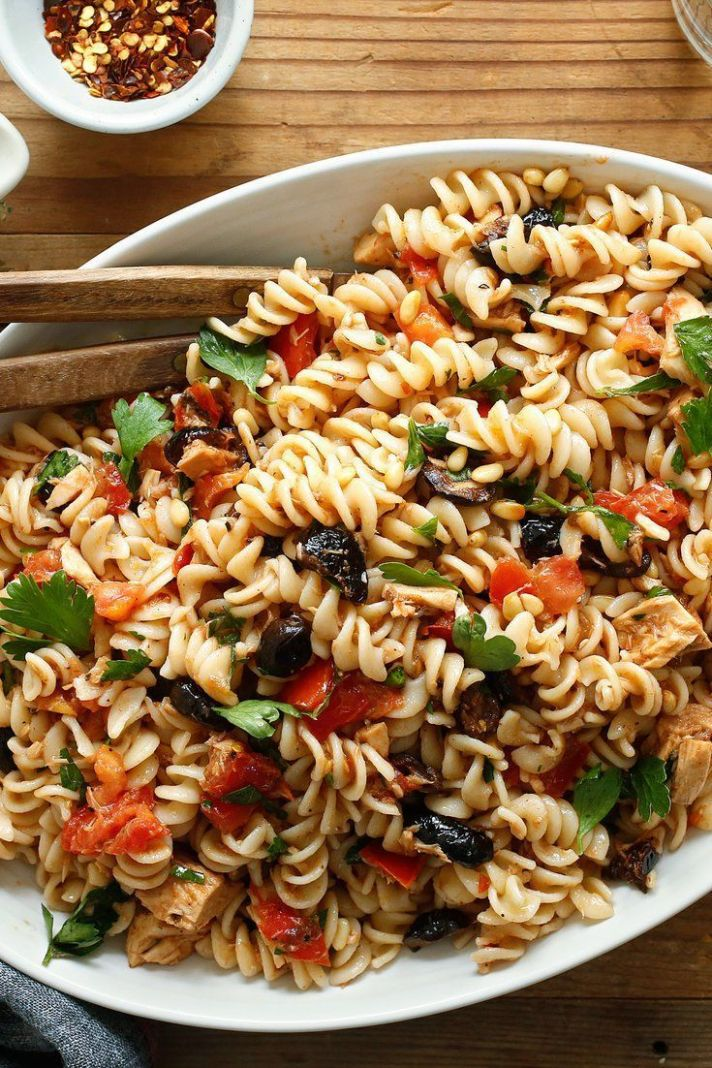 Pasta With Marinated Tomatoes and Summer Herbs Recipe - NYT ...