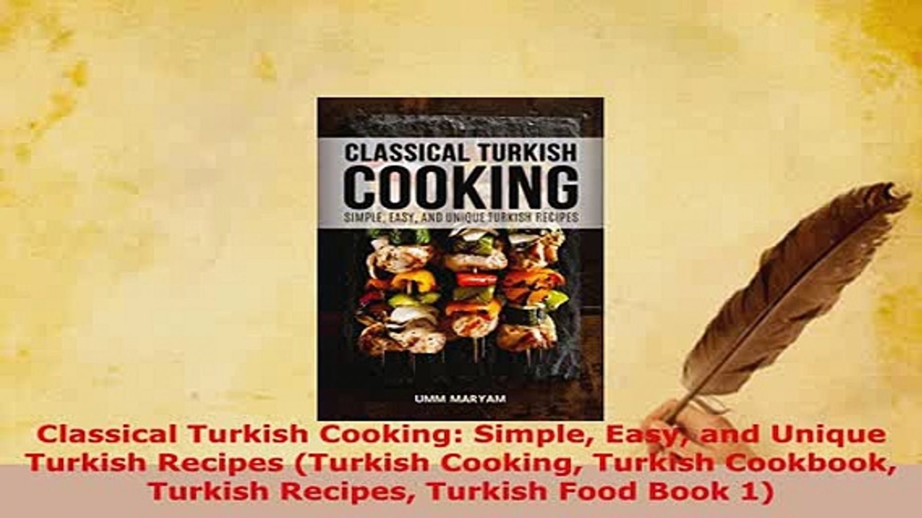 PDF Classical Turkish Cooking Simple Easy and Unique Turkish ..