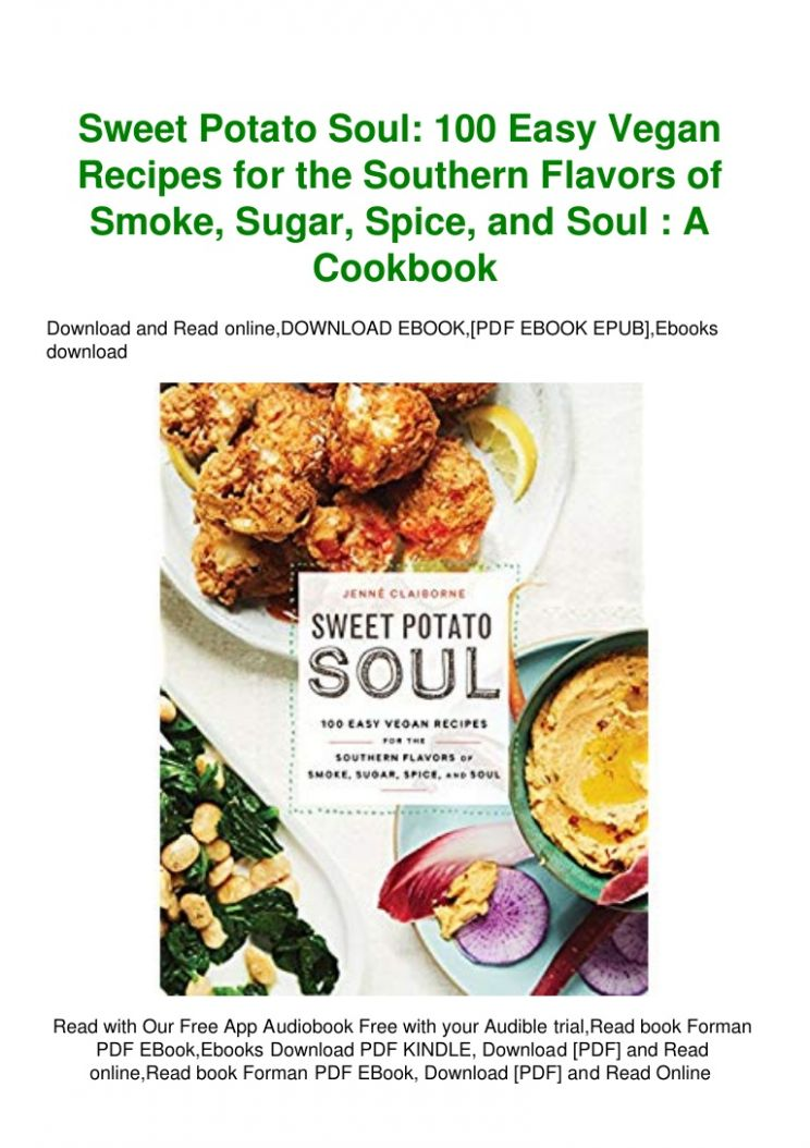 PDF] Download Sweet Potato Soul 12 Easy Vegan Recipes for the South…