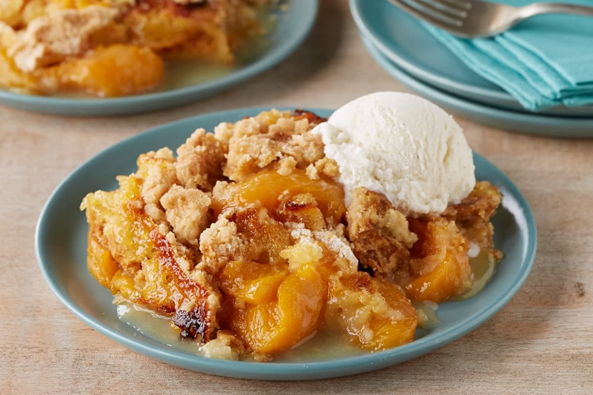 Peach Cobbler Dump Cake - Recipes Dump Cake