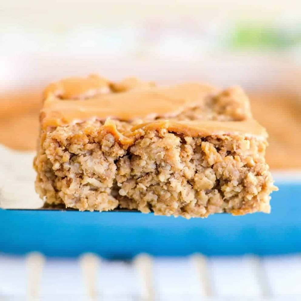 Peanut Butter Banana Baked Oatmeal - Breakfast Recipes Using Bananas