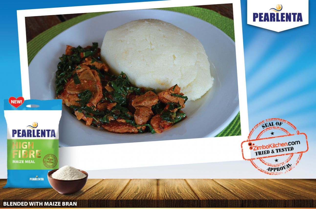 Pearlenta High Fibre Sadza with a touch of margarine | ZimboKitchen