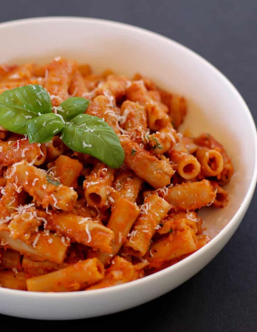 Penne Alla Vodka - Instant Pot - Ministry of Curry