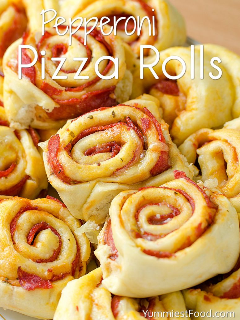 Pepperoni Pizza Rolls Recipe - Recipes Using Pizza Rolls