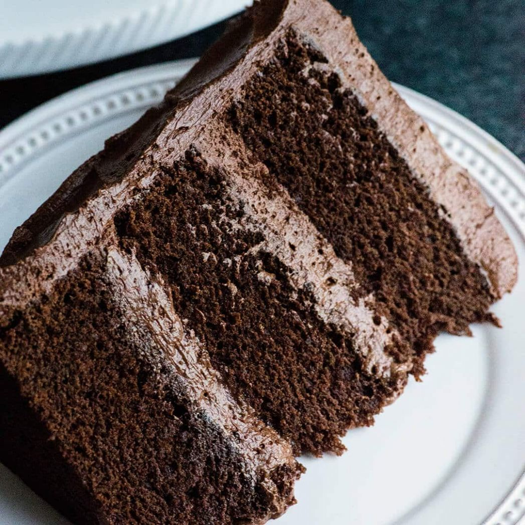 Perfect Chocolate Cake Recipe with Ganche buttercream- rich, dense and  delicious - Recipe Rich Chocolate Cake