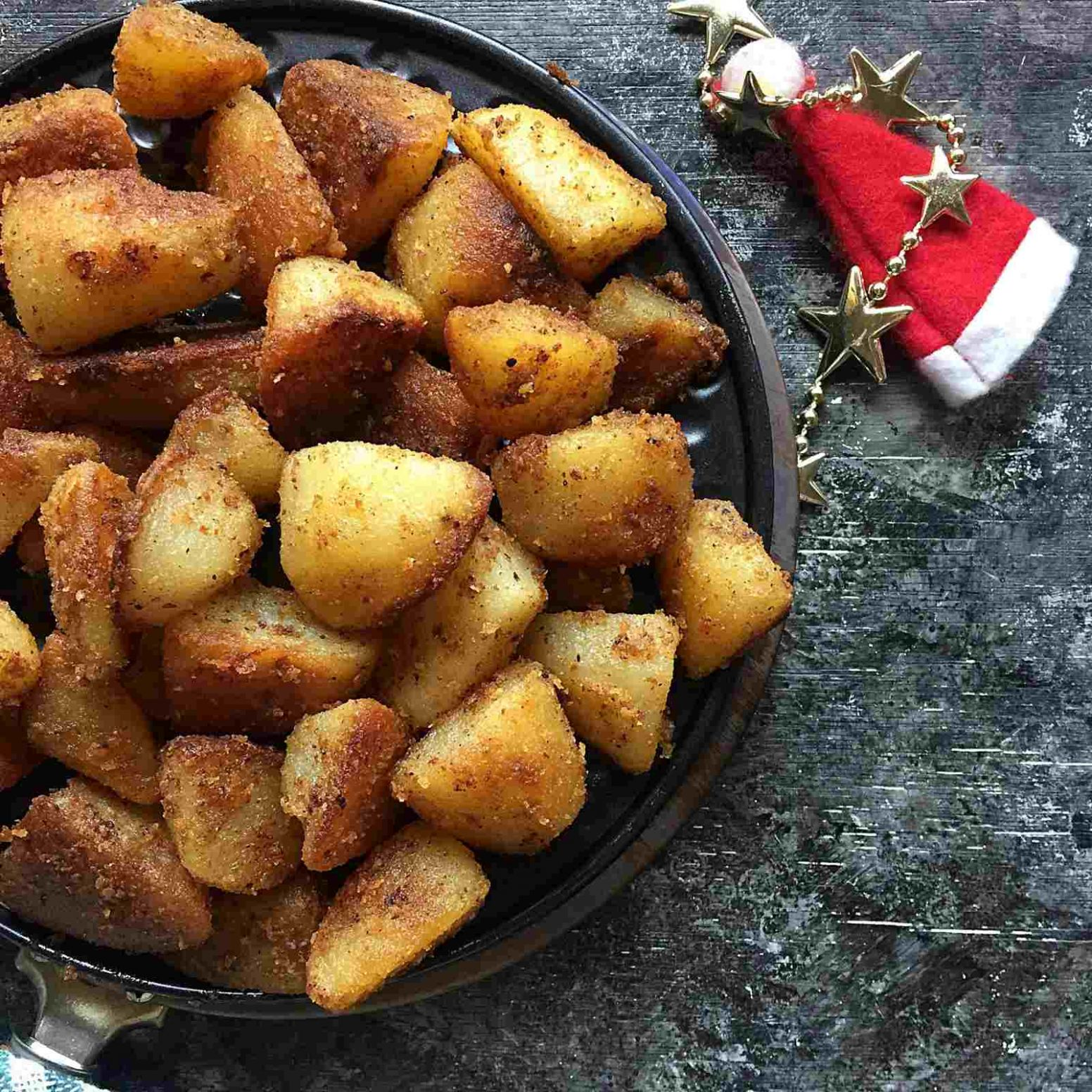 Perfect Christmas Roast Potatoes Recipe - Potato Recipes For Xmas