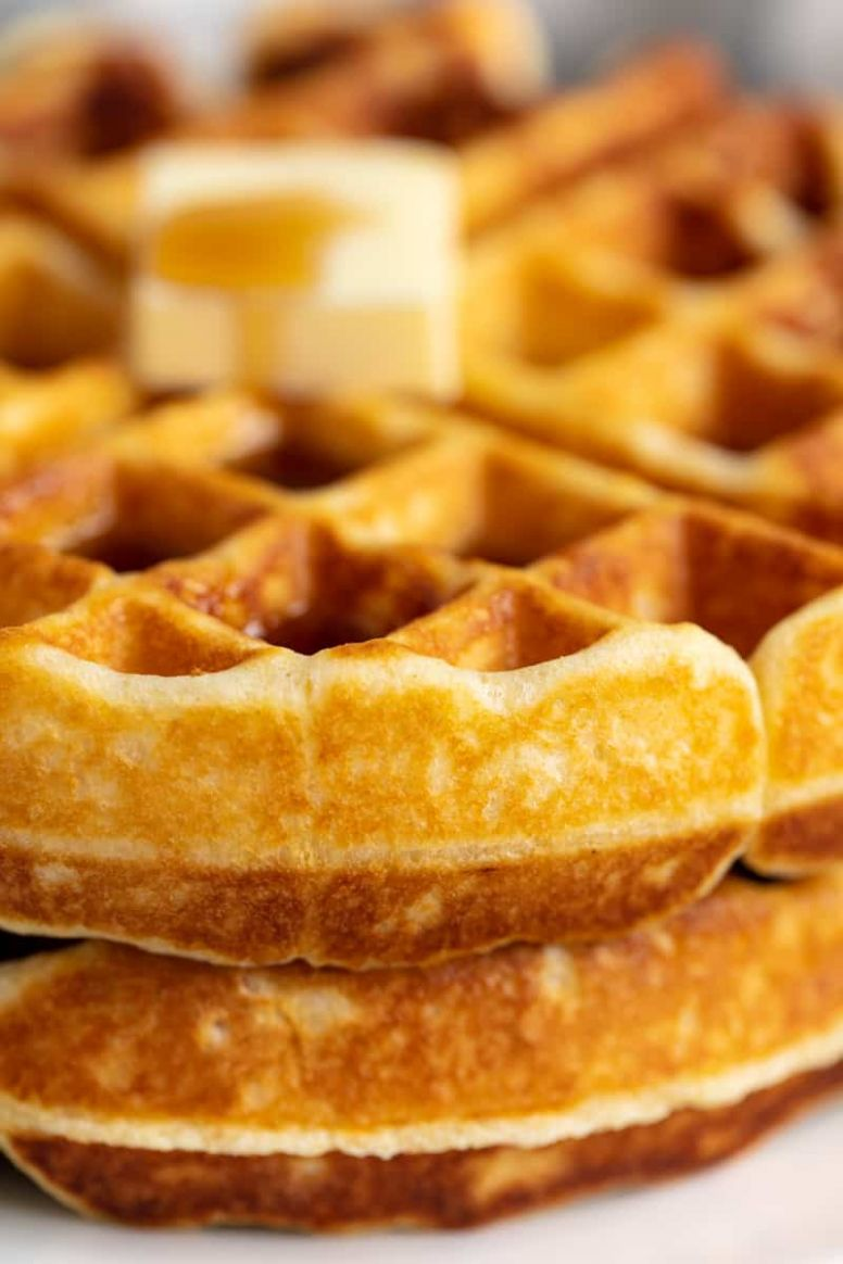 Perfectly Easy Homemade Waffle Recipe