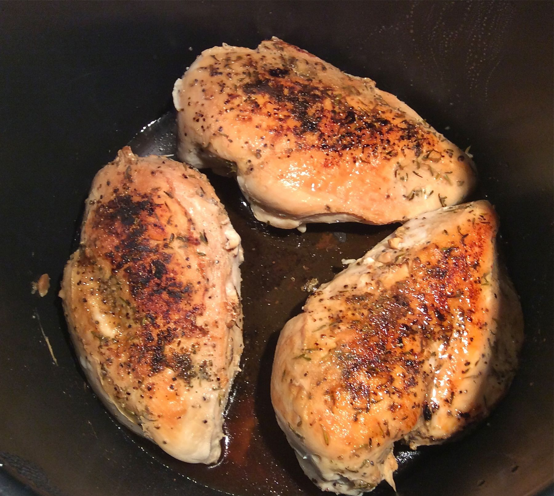 Perfectly Pressure-Cooked Chicken Breasts - Culinary Concerto