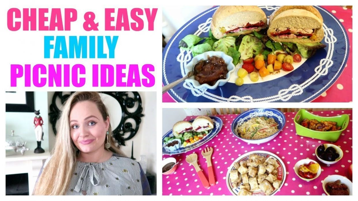 PICNIC FOOD IDEAS / Cheap , easy picnic recipes , budget family meal ideas,  DIY summer food - Summer Recipes On A Budget