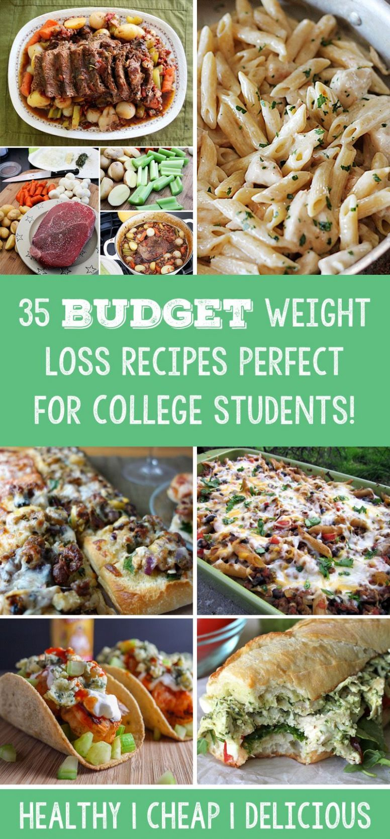 Pin auf cheap food - Recipes For Weight Loss On A Budget