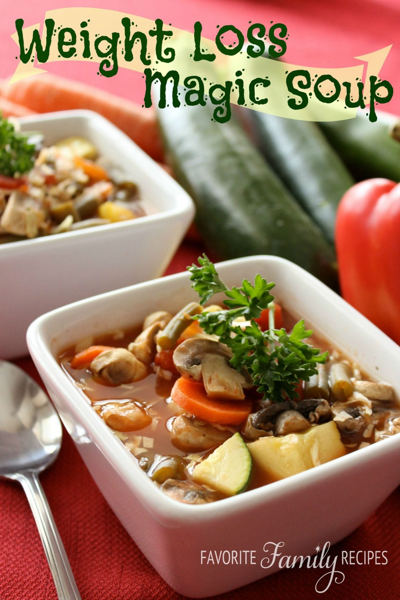 "Pin auf Weight watchers ""Suppe"" - Recipe For Weight Loss Magic Soup"