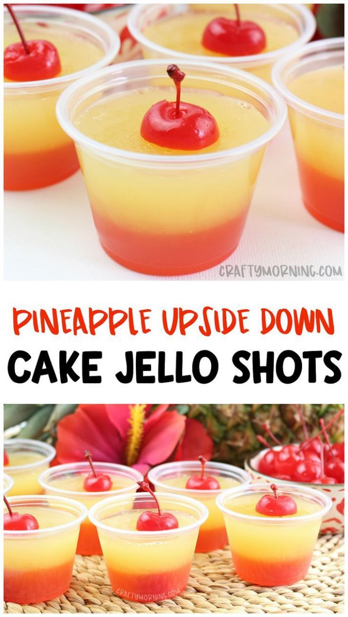 Pin by Jessica Rockholt on drinks in 11 | Jello shot recipes ..