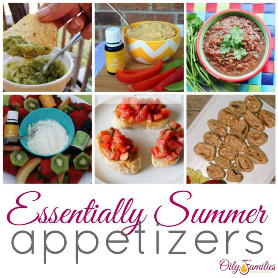 Pin on Appetizers - Food Recipes Using Essential Oils