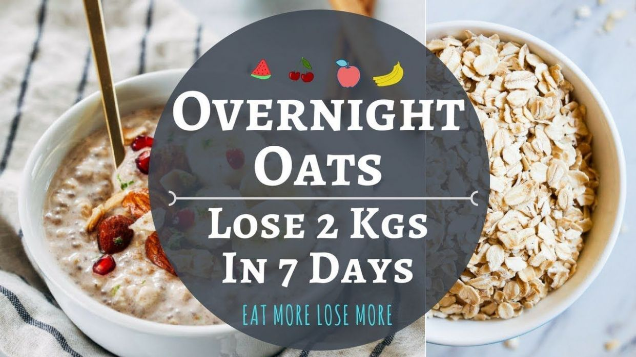 Pin on Breakfast & Fruit - Oats Recipes For Weight Loss Youtube