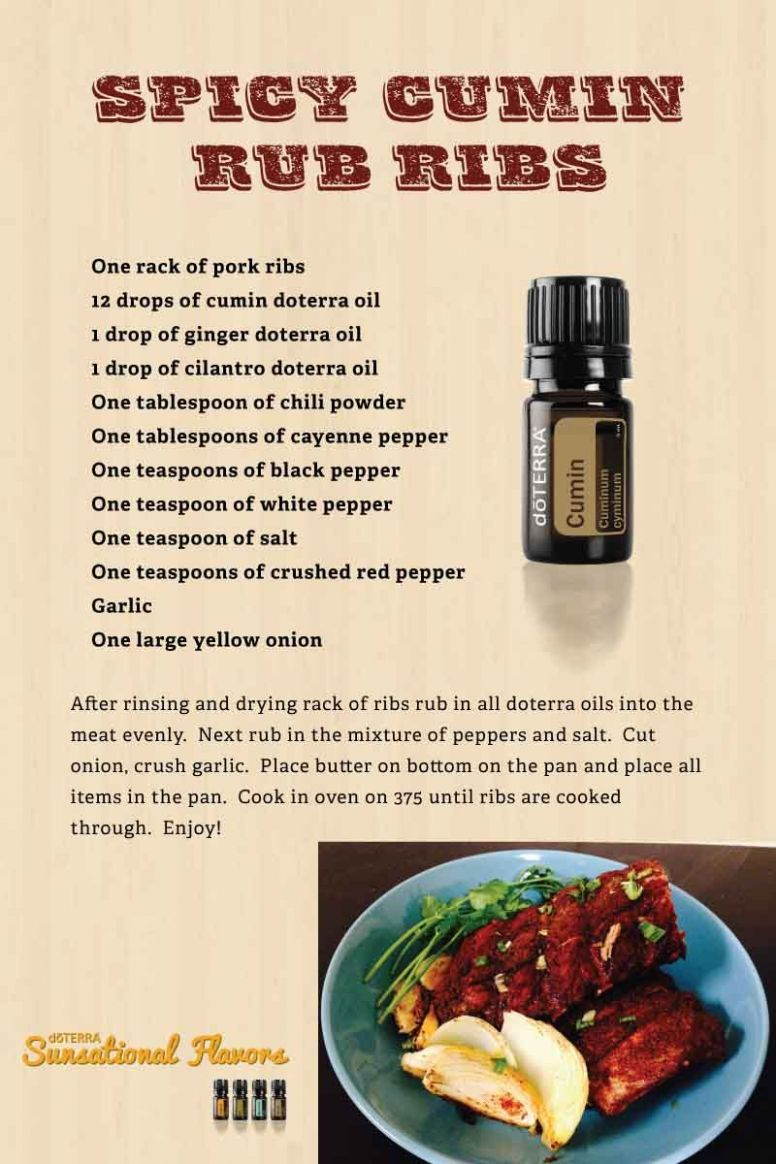Pin on doTERRA recipes for classes - Food Recipes Using Essential Oils