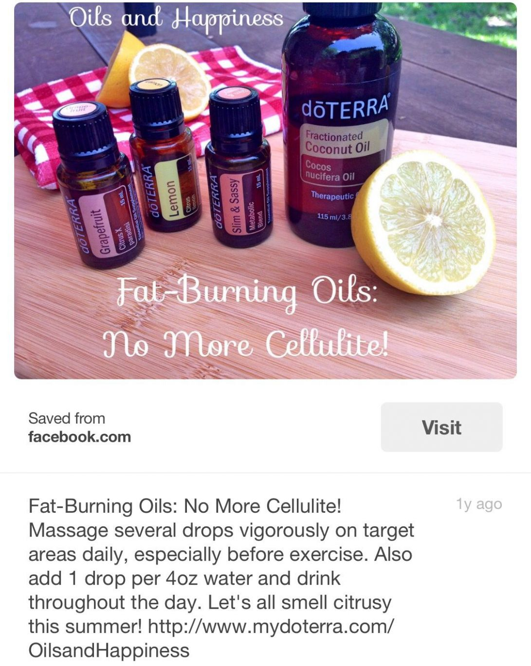 Pin on doTERRA - Rollerball Recipes For Weight Loss