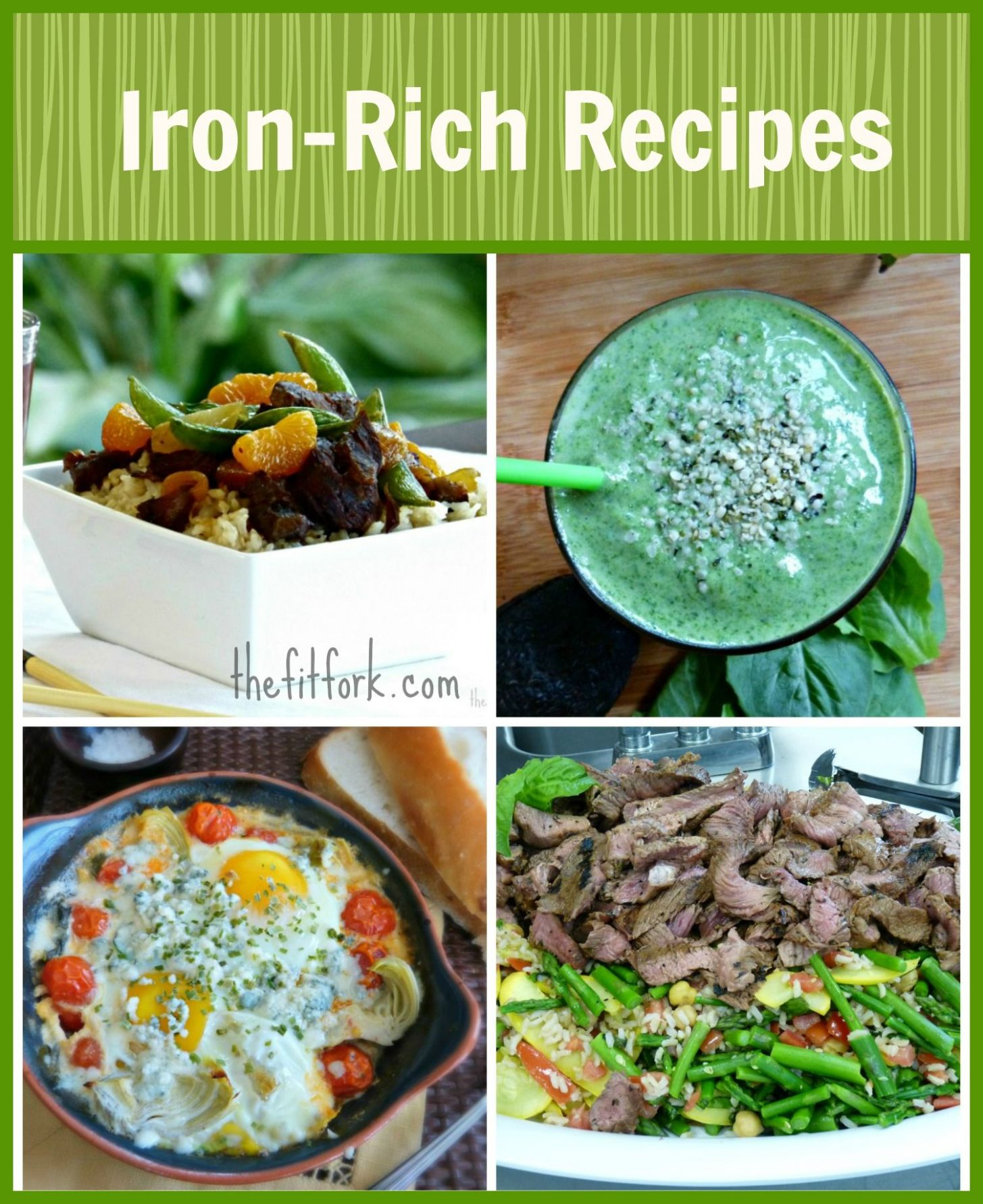 Pin on food : iron rich - Healthy Recipes High In Iron