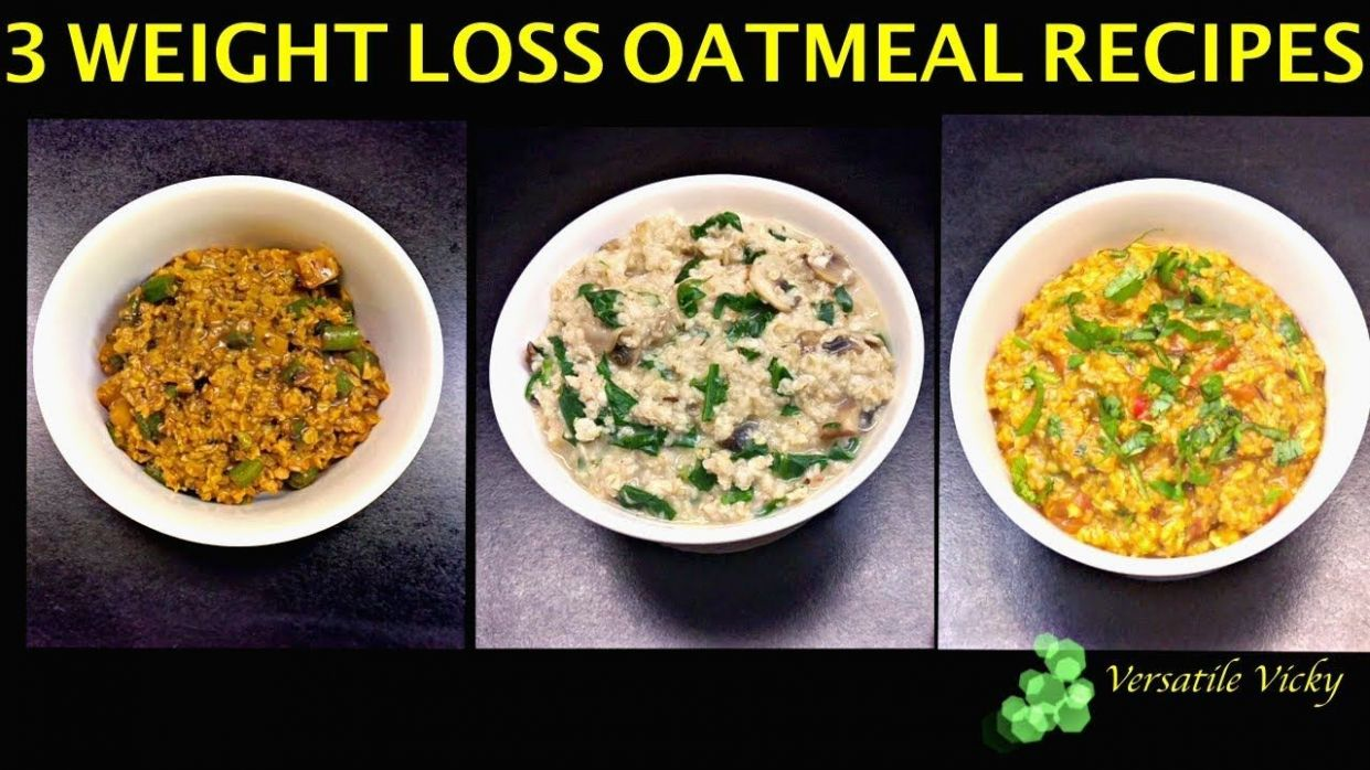 Pin on RECIPES: Breakfasts - Oats Recipes For Weight Loss Youtube