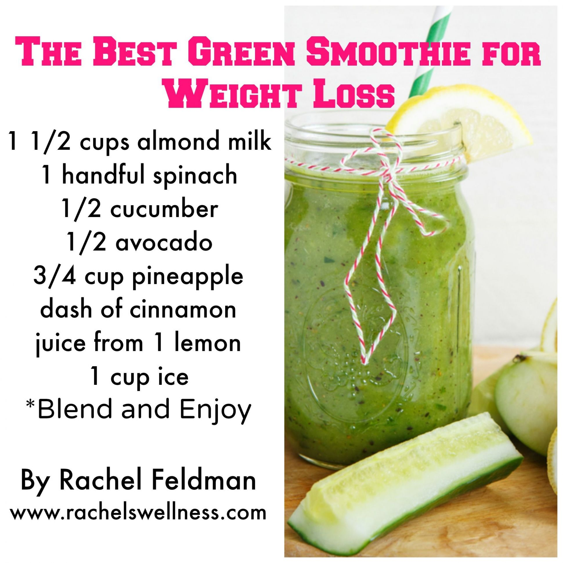 Pin on Smoothies, healthy, paleo, vegan - Smoothie Recipes Weight Loss Diet