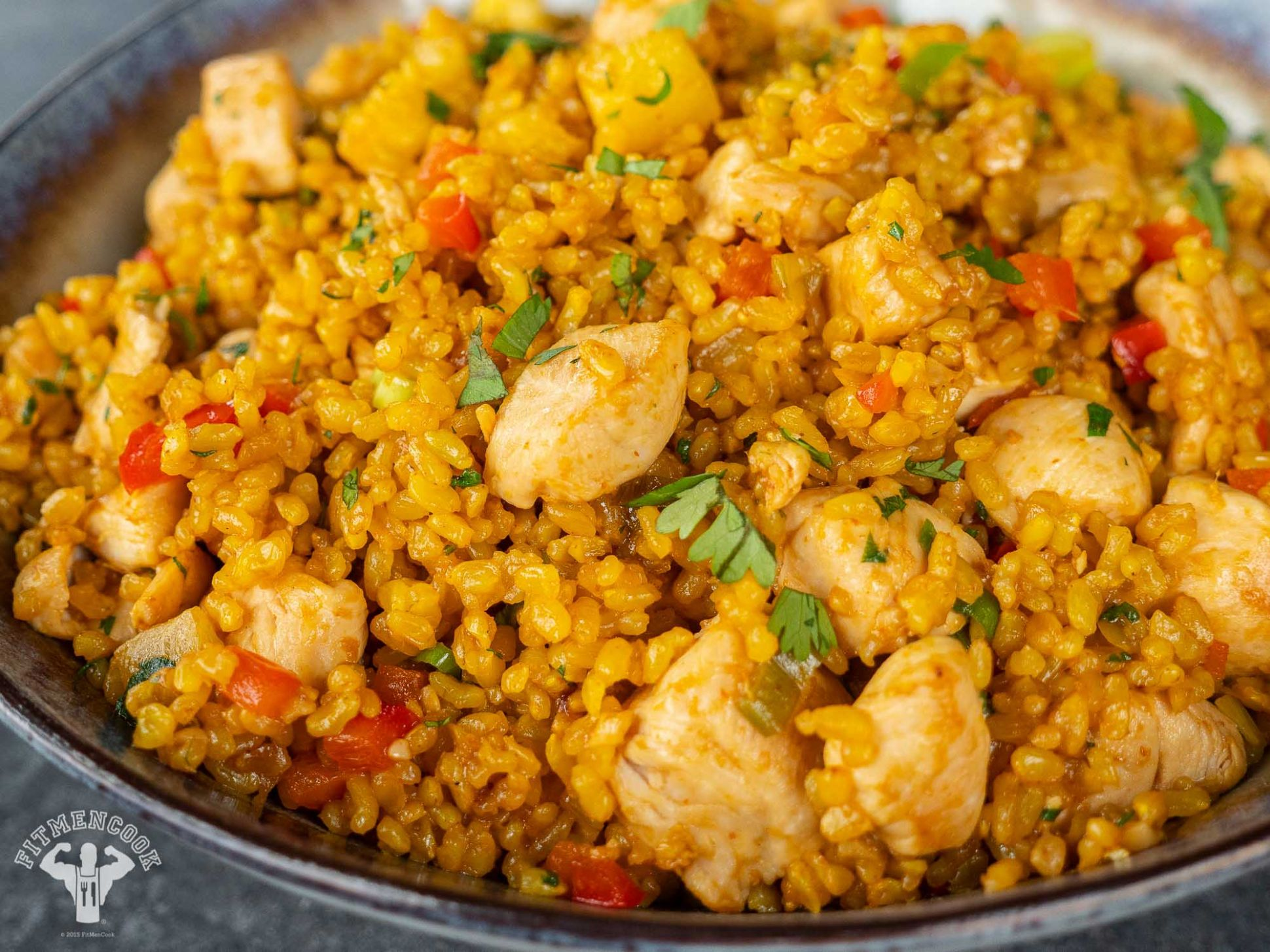 Pineapple Chicken Fried Rice With Turmeric - Fit Men Cook - Recipes Rice With Pineapple