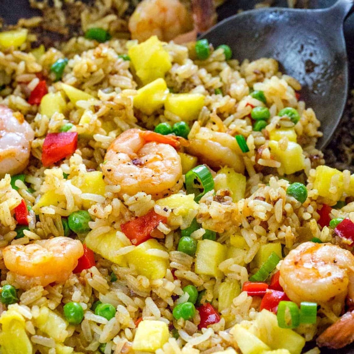 Pineapple Fried Rice - Recipes Rice With Pineapple