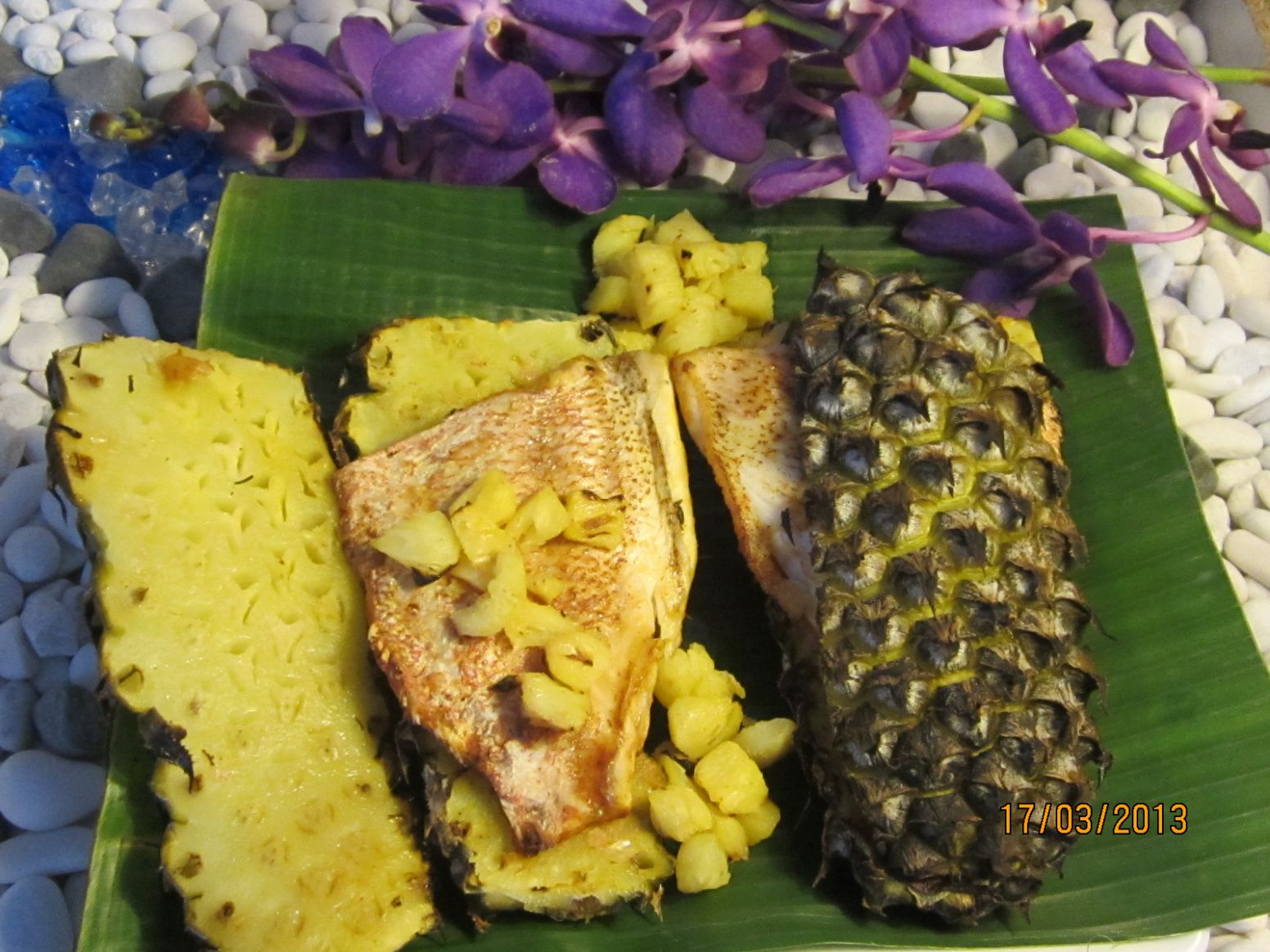Pineapple Grilled fish - Recipe Fish With Pineapple