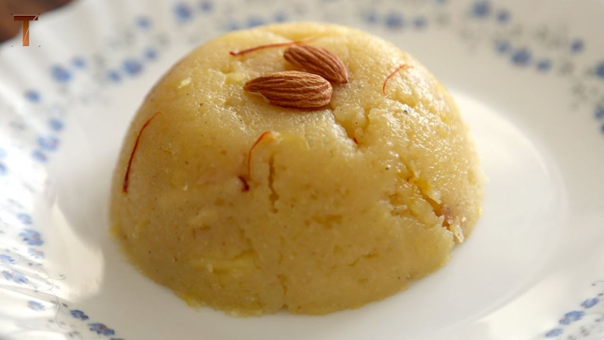 Pineapple Sheera - Indian Dessert - Quick And Easy Recipe By Teamwork Food