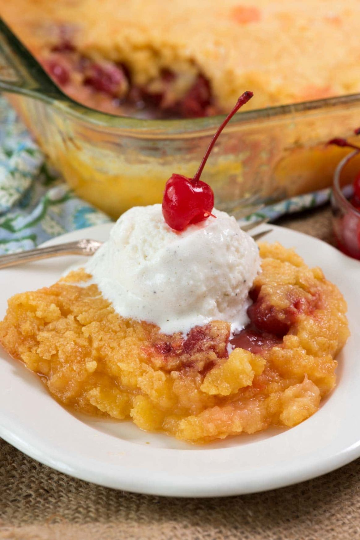 Pineapple Upside Down Dump Cake - Recipes Dump Cake
